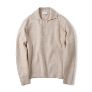 "SHIRTER Brushed Pique Knit ""Ivory"""