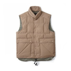 "SWELLMOB Square Mt.Down Vest ""Beige"""