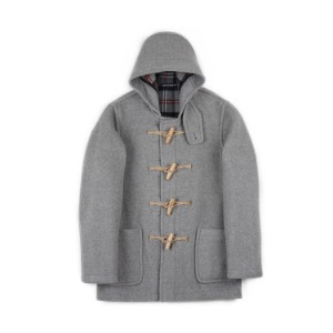 "LONDON TRADITION Martin NYNF Duffle Coat ""Pearl Grey"""