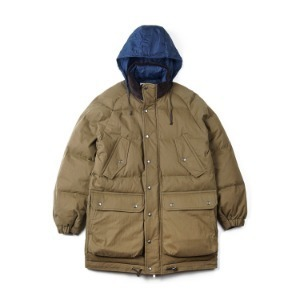 "SWELLMOB 6 Pocket Classic Goose Down Parka ""Hunting Green"""