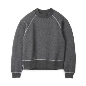 "OOPARTS High Neck Sweat ""Charcoal"""