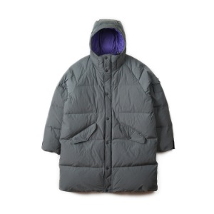"BEHEAVYER Shield Parka ""Grey"""
