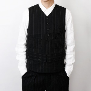 "EASTLOGUE Shooting Vest ""Black Slub"""