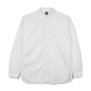 "SUGAR CANE SC28091 Fiction Romance 100/2 Giza88 Cotton Work Shirt ""White"""