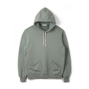 "BURGUS PLUS Over Dyed Hoodie ""Olive"""