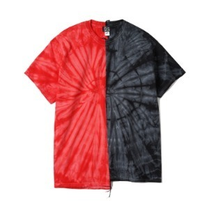 "OAXACA TieDye Tee Shoulder Tape ""Red / Black"""