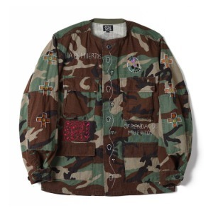 "OAXACA Bleach Camouflage Jacket ""Bleach Duck / Dead"""