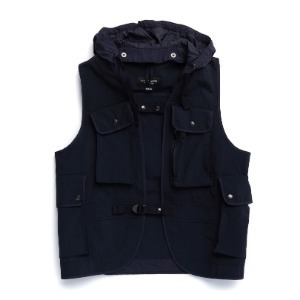 "EASTLOGUE Battle Jerkin Vest ""Navy Ripstop"""