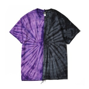 "OAXACA TieDye Tee Shoulder Tape ""Purple / Black"""