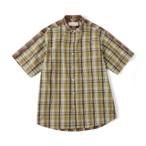 "SHIRTER Check Mix Shirt ""Yellow"""