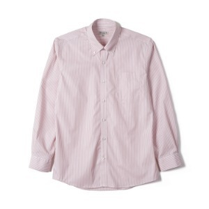 "BANTS FLB Stripe Broadcloth B.D Shirt ""Pink"""