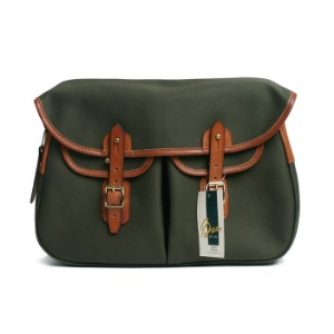 "BRADY BAGS Small ARIEL TROUT Fishing Bag ""Olive"""