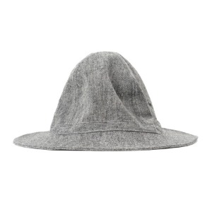 "OOPARTS OPTAC02 Linen Hat ""Charcoal"""