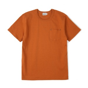 "BURGUS PLUS HBP-001 Organic Cotton Pocket Tee ""Orange"""