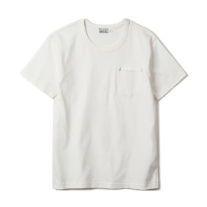 "HBP-001 Organic Cotton Pocket Tee ""White"""