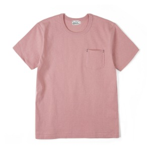 "BURGUS PLUS HBP-001 Organic Cotton Pocket Tee ""Pink"""