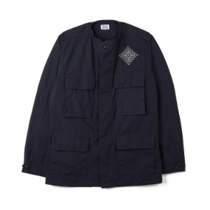 "OAXACA Cross Stitch Jacket ""Dark Navy"""