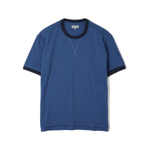 "BANTS FLB Cotton Round Neck T-shirt Half ""Blue"""