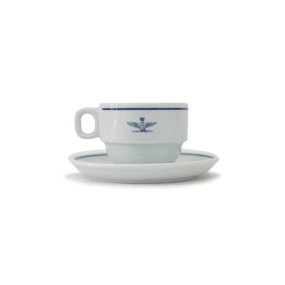 YMCL KY Italy A.M.I Cappuccino Cup & Saucer 'Dead Stock'