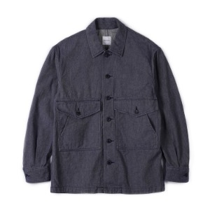 "Sage De Cret Military Jacket ""Navy"""