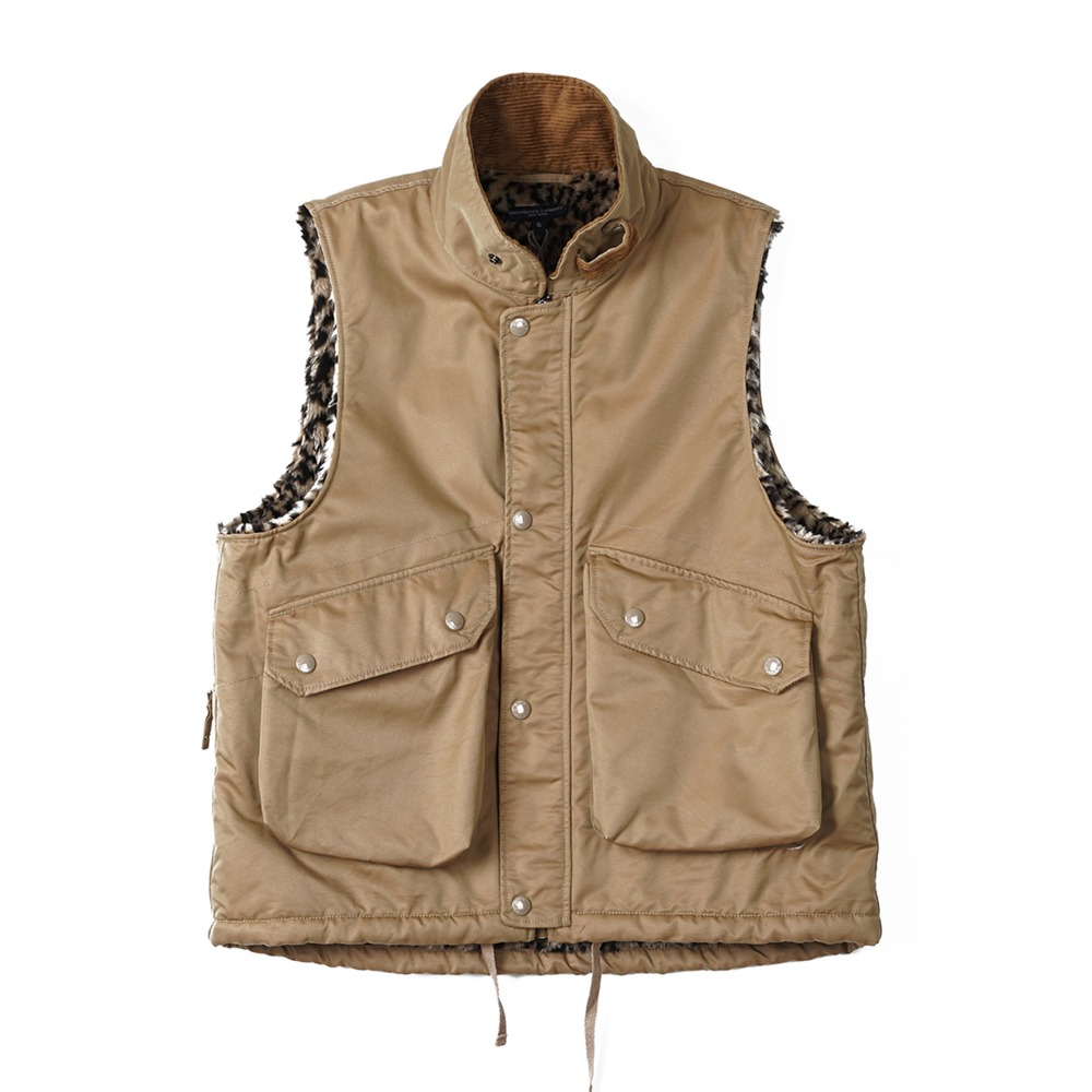 "ENGINEERED GARMENTS Field Vest ""Orange PC Iridescent Twill"""