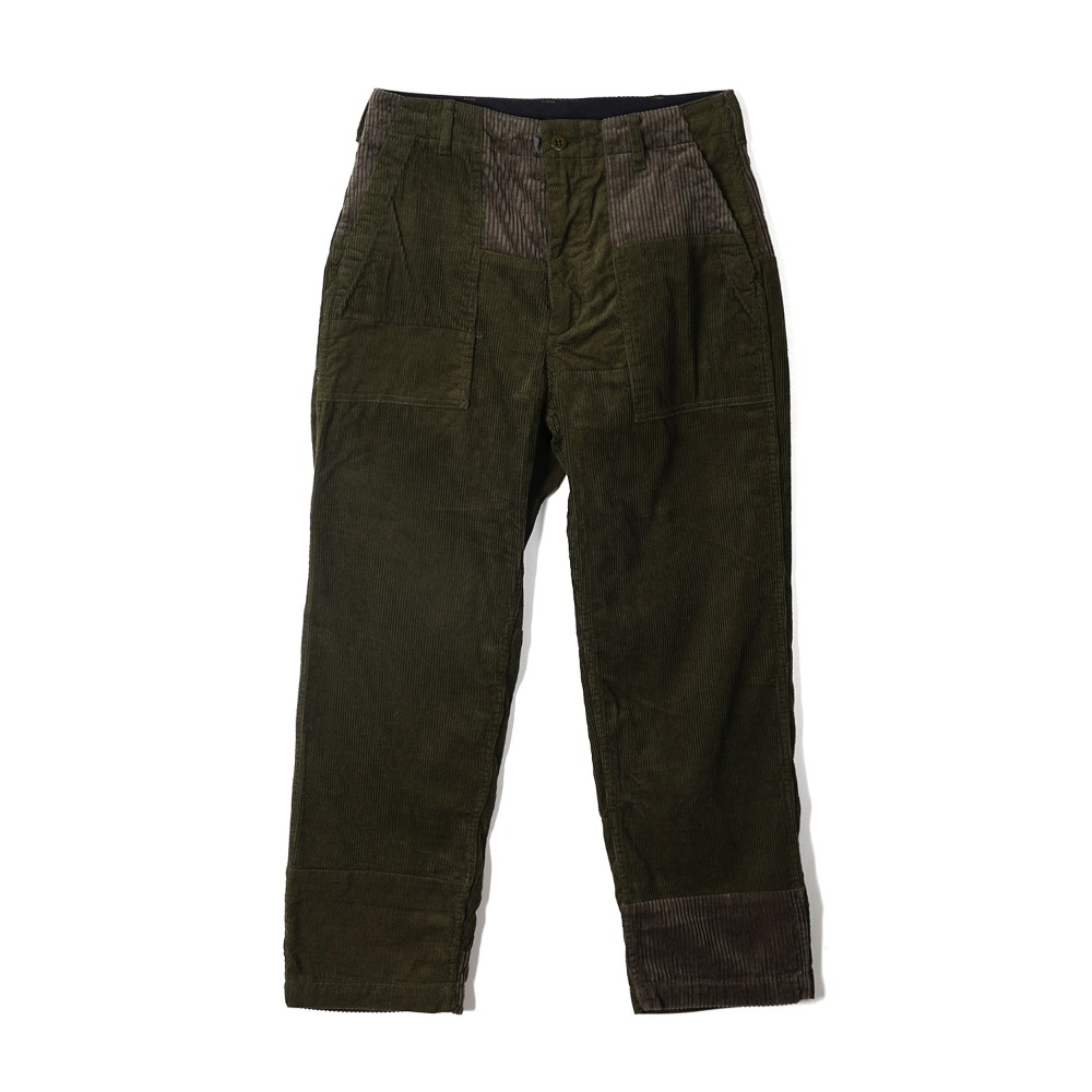 "ENGINEERED GARMENTS Fatigue Pant ""Olive Cotton 8W Corduroy"""