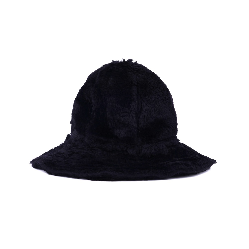 "ENGINEERED GARMENTS Dome Hat ""Black Acrylic Fur"""