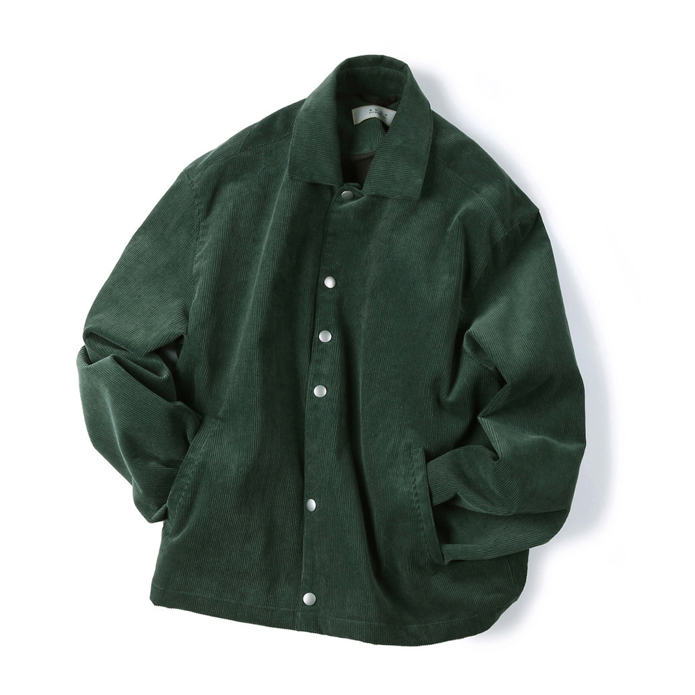 "SHIRTER Corduroy Jacket ""Green"""