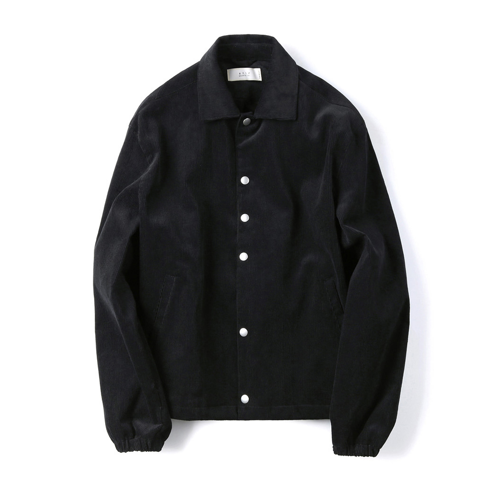 "SHIRTER Corduroy Jacket ""Black"""