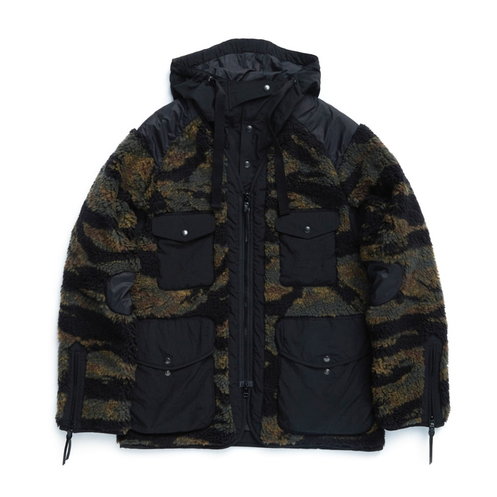 "EASTLOGUE Traveler Jacket ""Tiger Camo Fleece"""