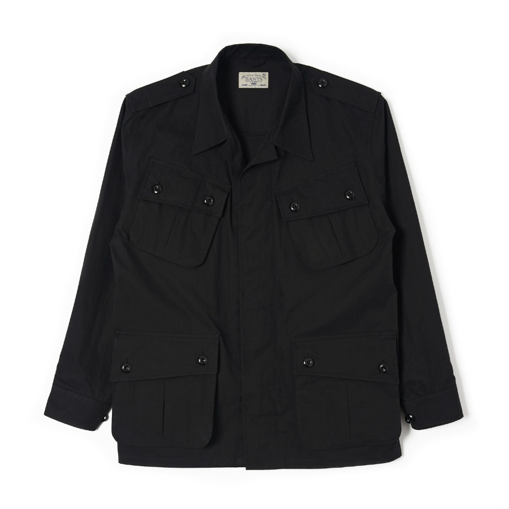 "BANTS OSF Jungle Fatigue Jacket ""Black"""