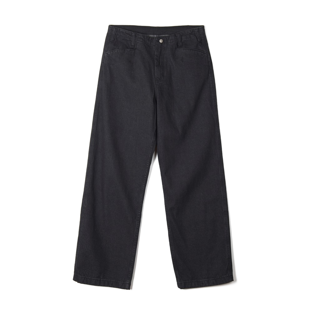 "OOPARTS String Denim Pants ""Black"""