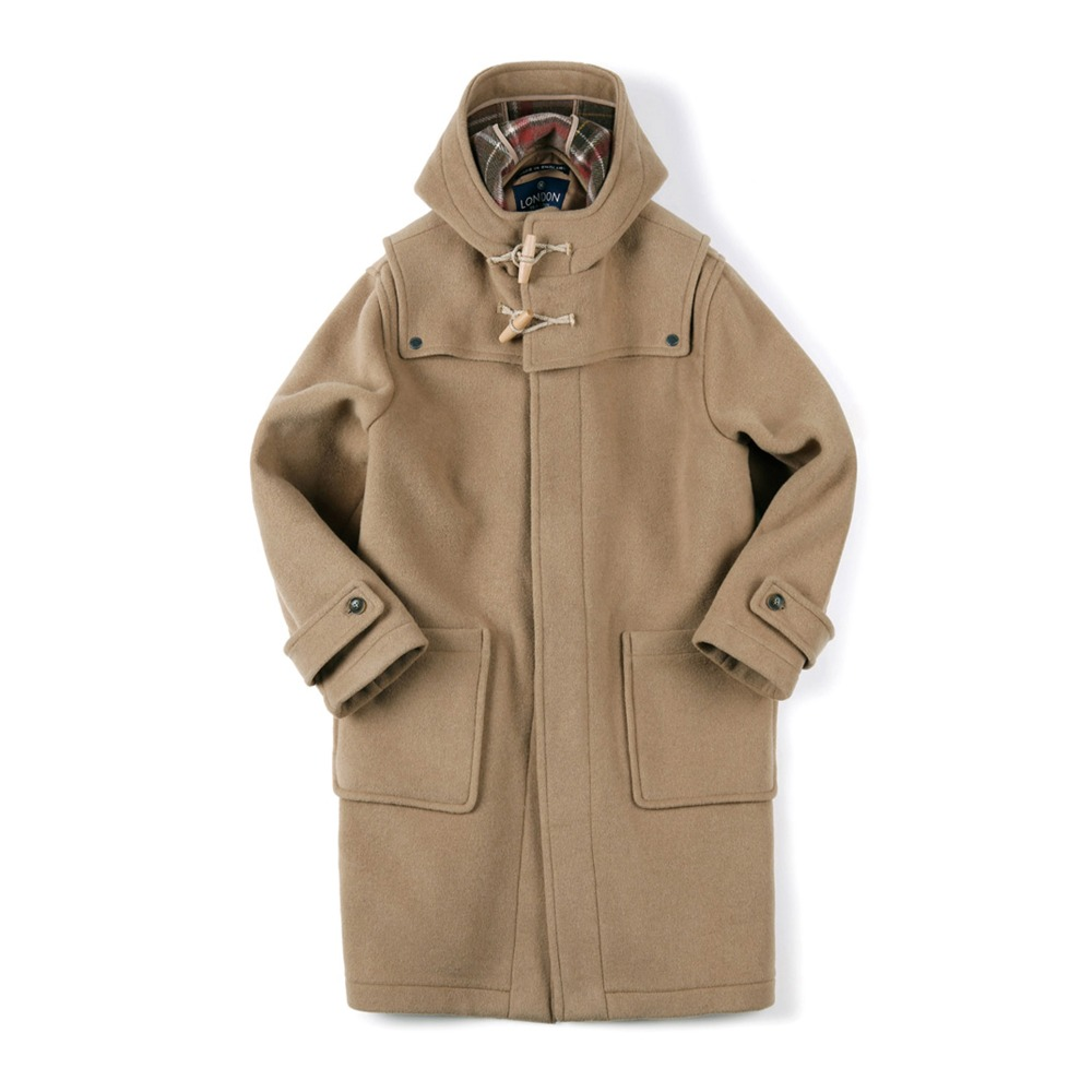 "SHIRTER Detachable Duffle Coat ""Camel""[ LONDON TRADITION for SHIRTER ]"