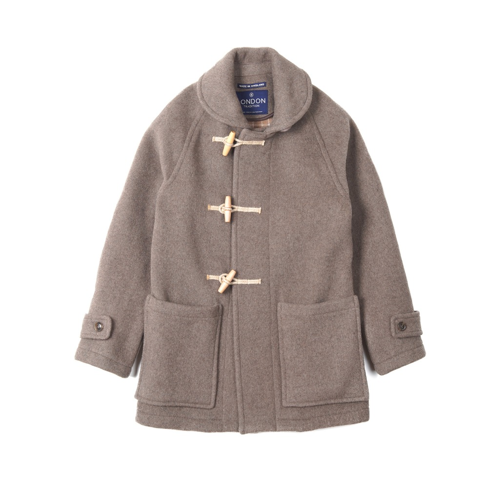 "LONDON TRADITION Edward Mens Duffle Coat ""New Mushroom"""