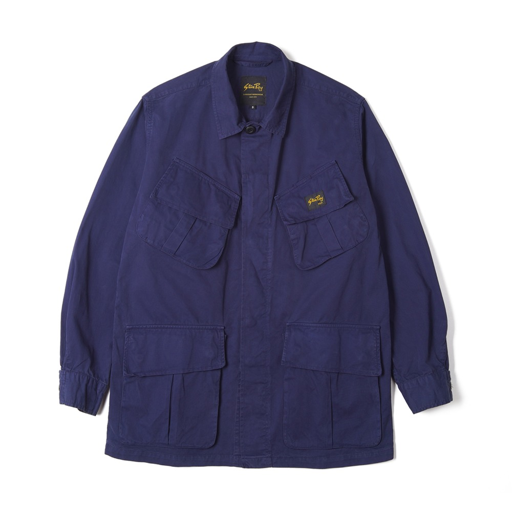 "STAN RAY Tropical Jacket ""Navy"""