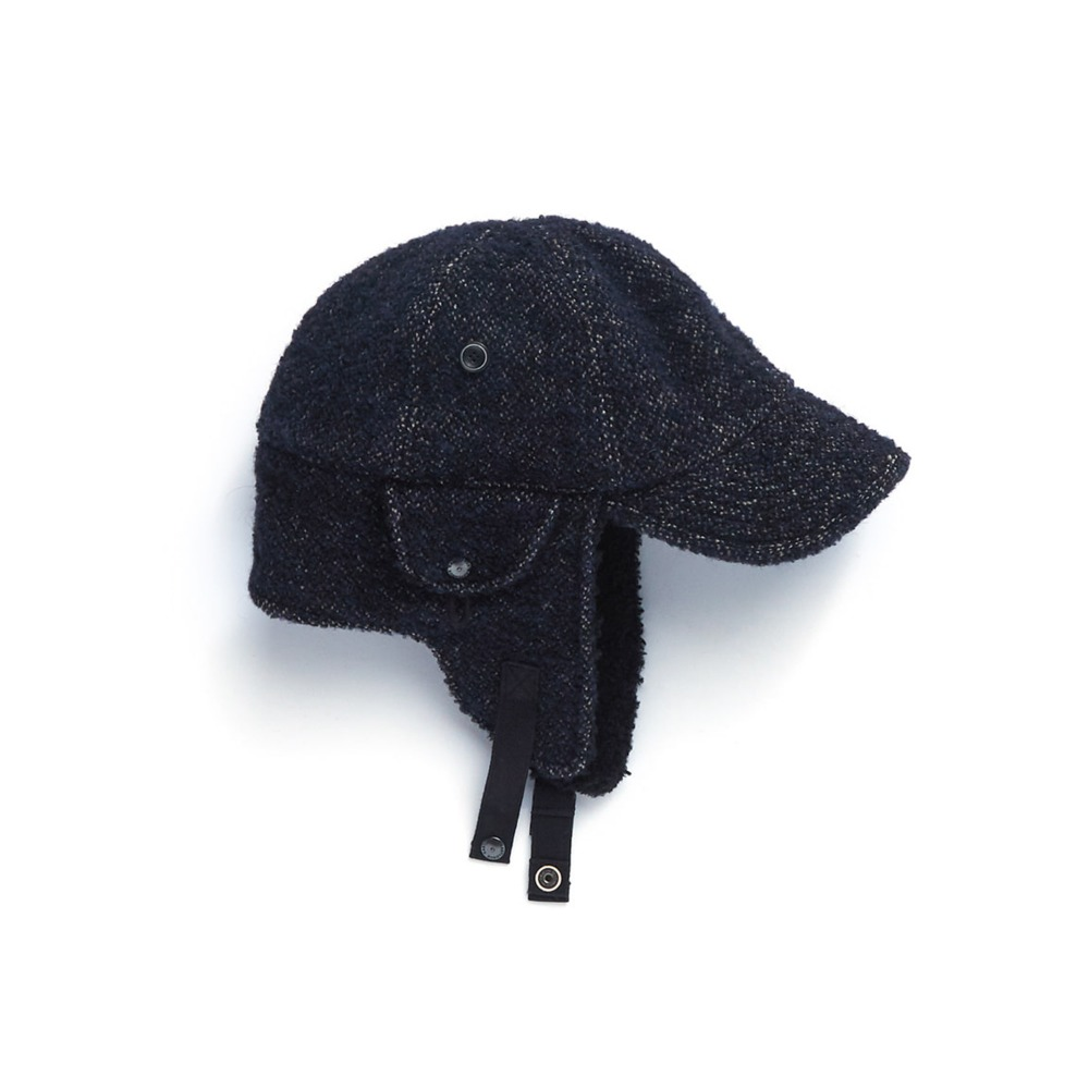 "EASTLOGUE Bomber Hat ""Navy Towel"""