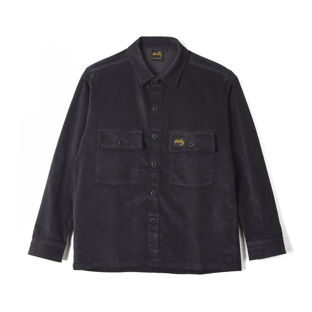 "STAN RAY Cord CPO Shirt ""Navy Cord"""