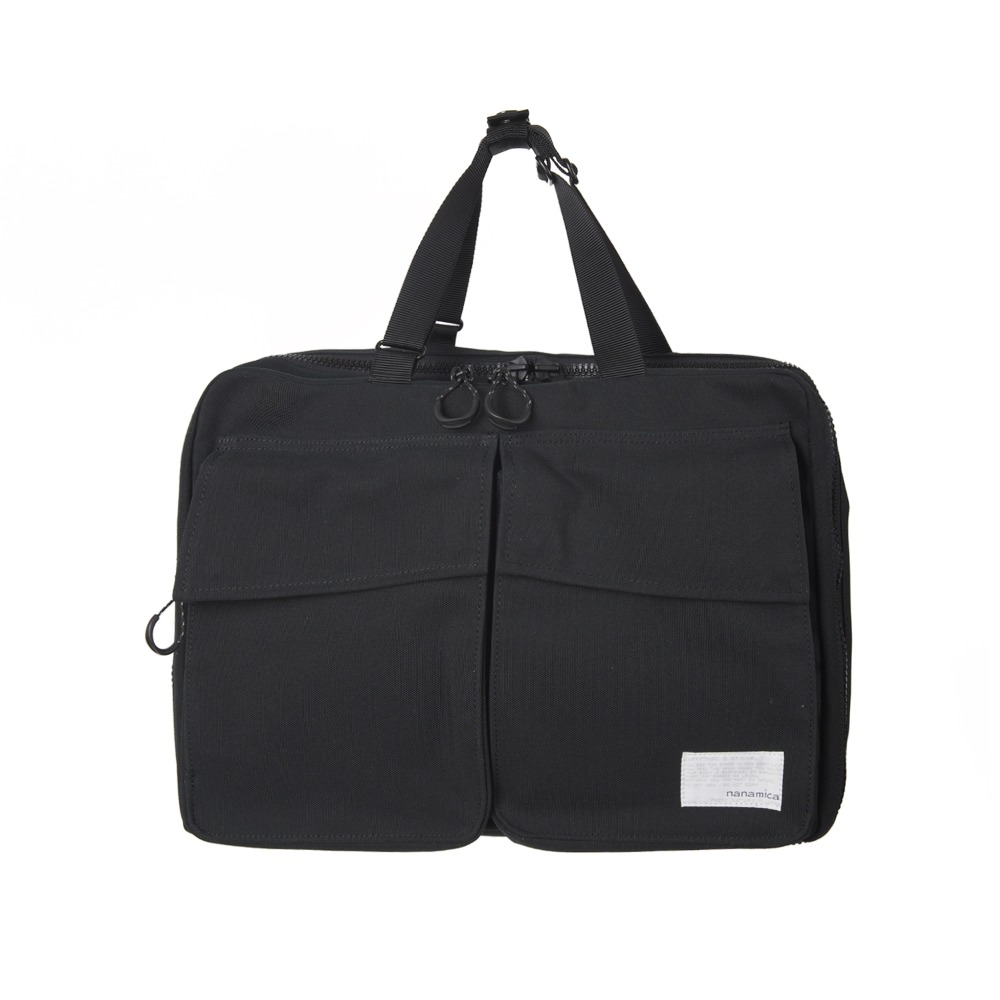 "NANAMICA 3way Briefcase ""Black"""