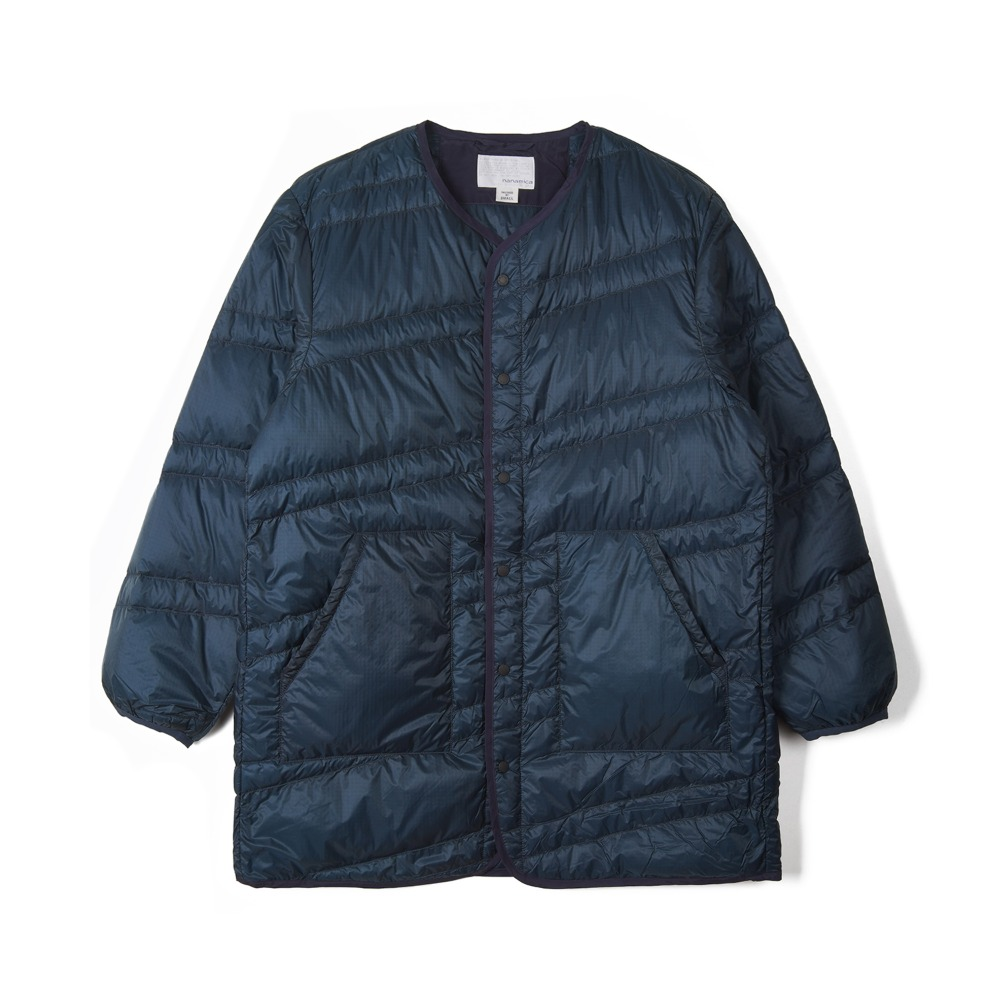 "NANAMICA Down Coat ""Navy"""
