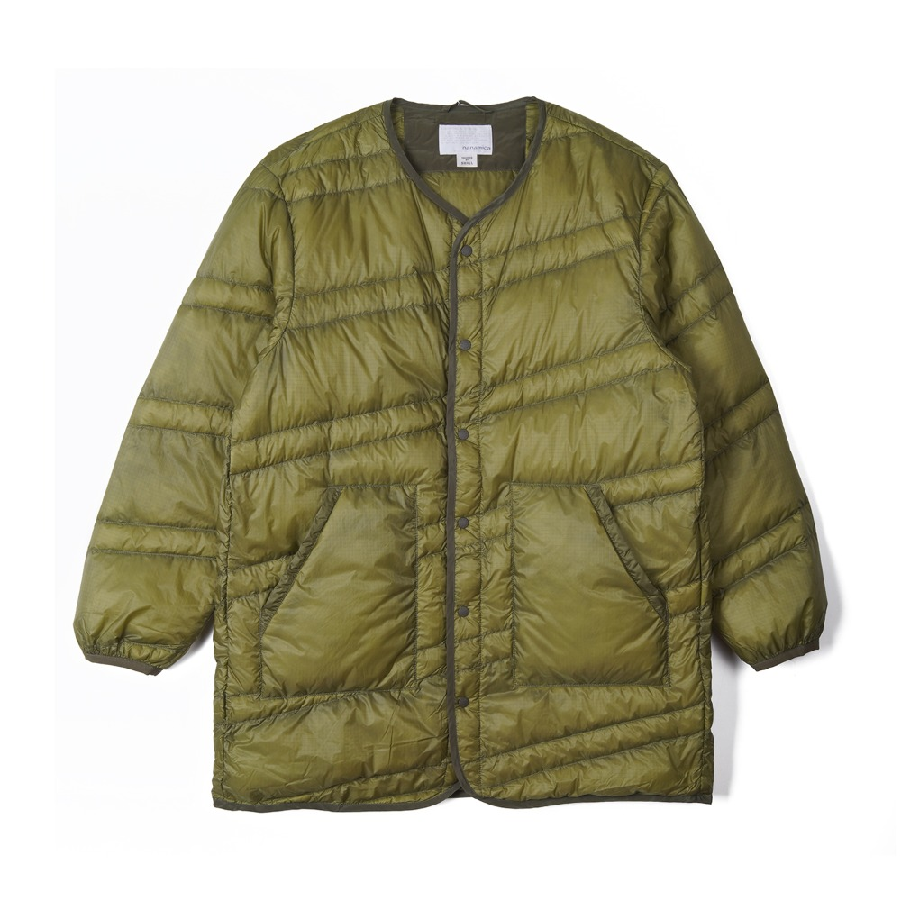 "NANAMICA Down Coat ""Light Khaki"""