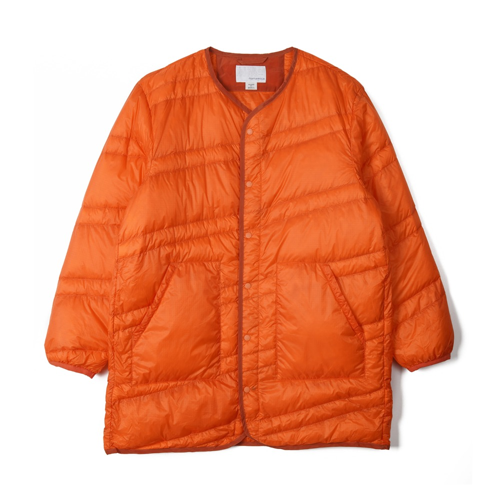 "NANAMICA Down Coat ""Orange"""