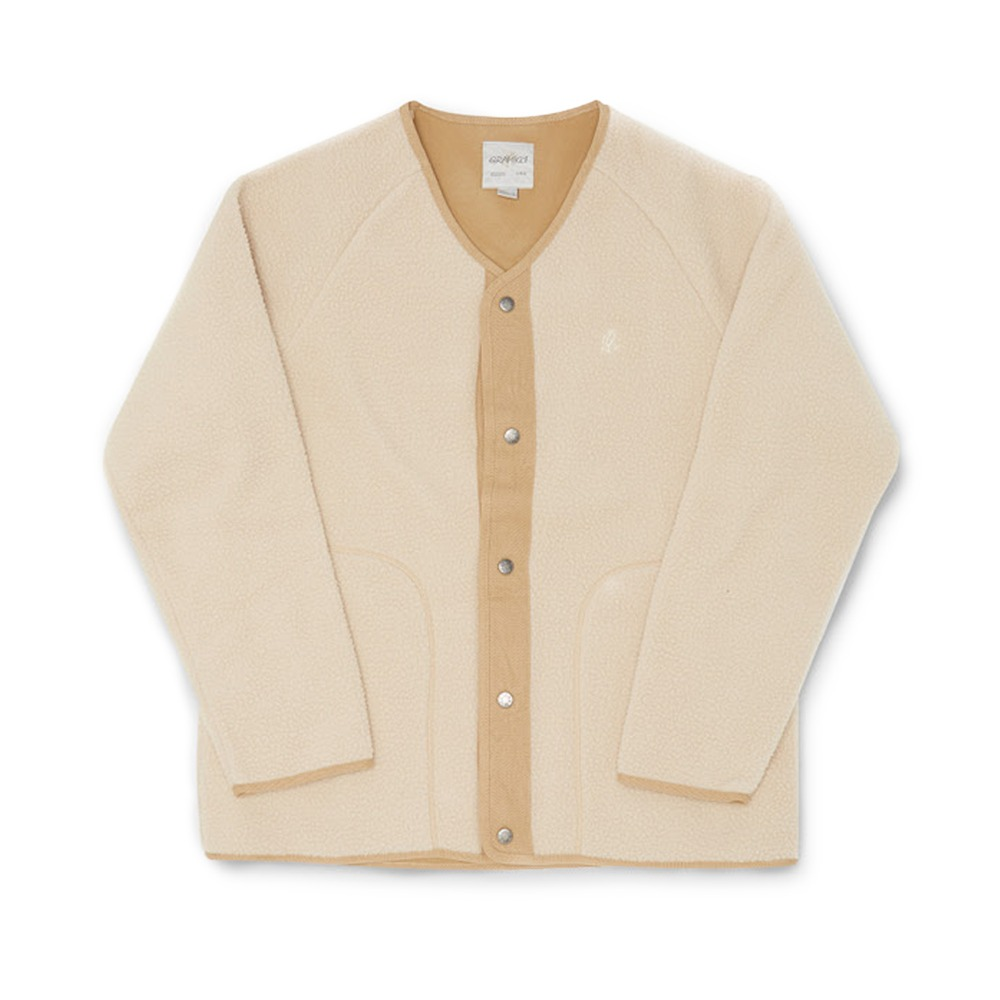 "GRAMICCI Boa Fleece Jacket ""Ivory"""