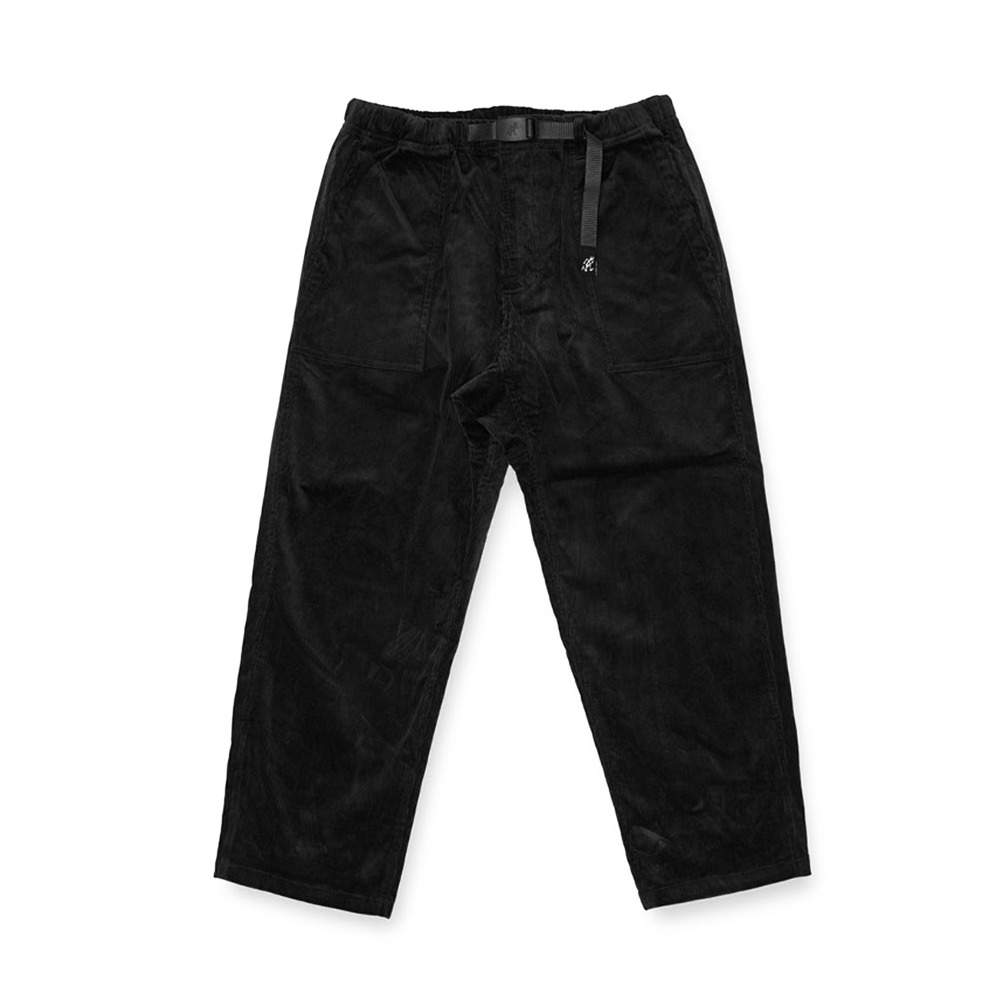 "GRAMICCI Corduroy Loose Tapered Pants ""Black"""