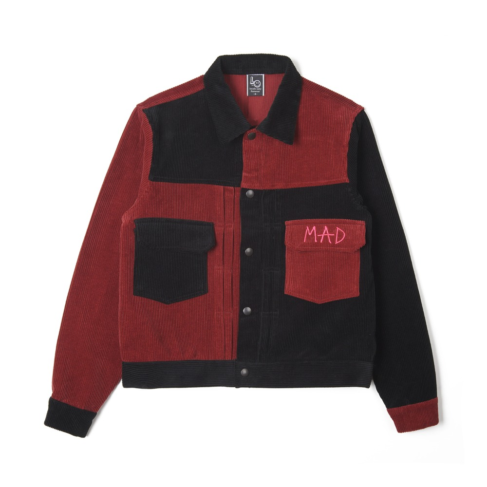 "LOCALS ONLY 2nd Corduroy Jacket ""Crazy"""