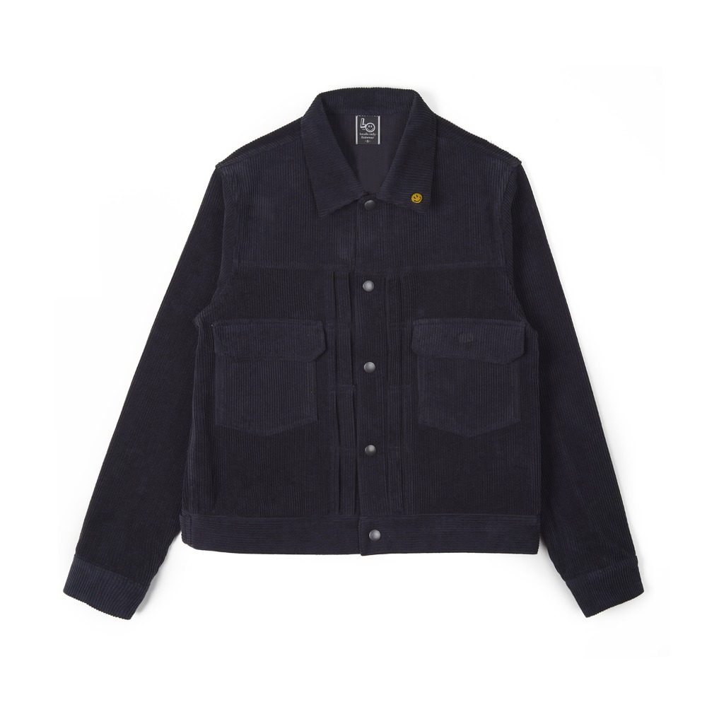 "LOCALS ONLY 2nd Corduroy Jacket ""Navy"""