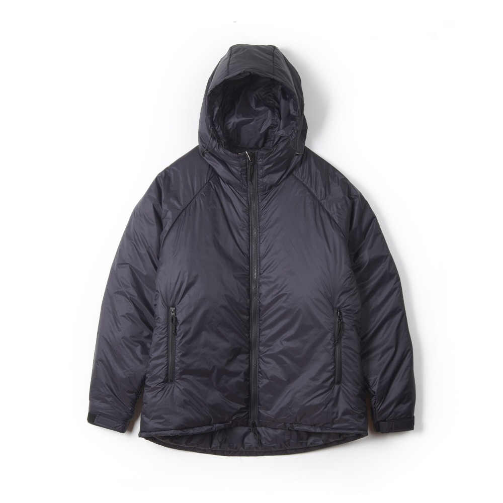 "UNITED CARR Parka, Extreme, Cold, Weather, Padding ""Black"""