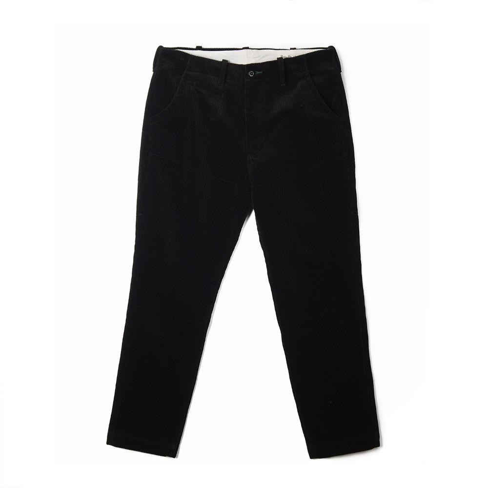 "BURGUS PLUS Original Wide Wale Corduroy Trousers ""Black"""