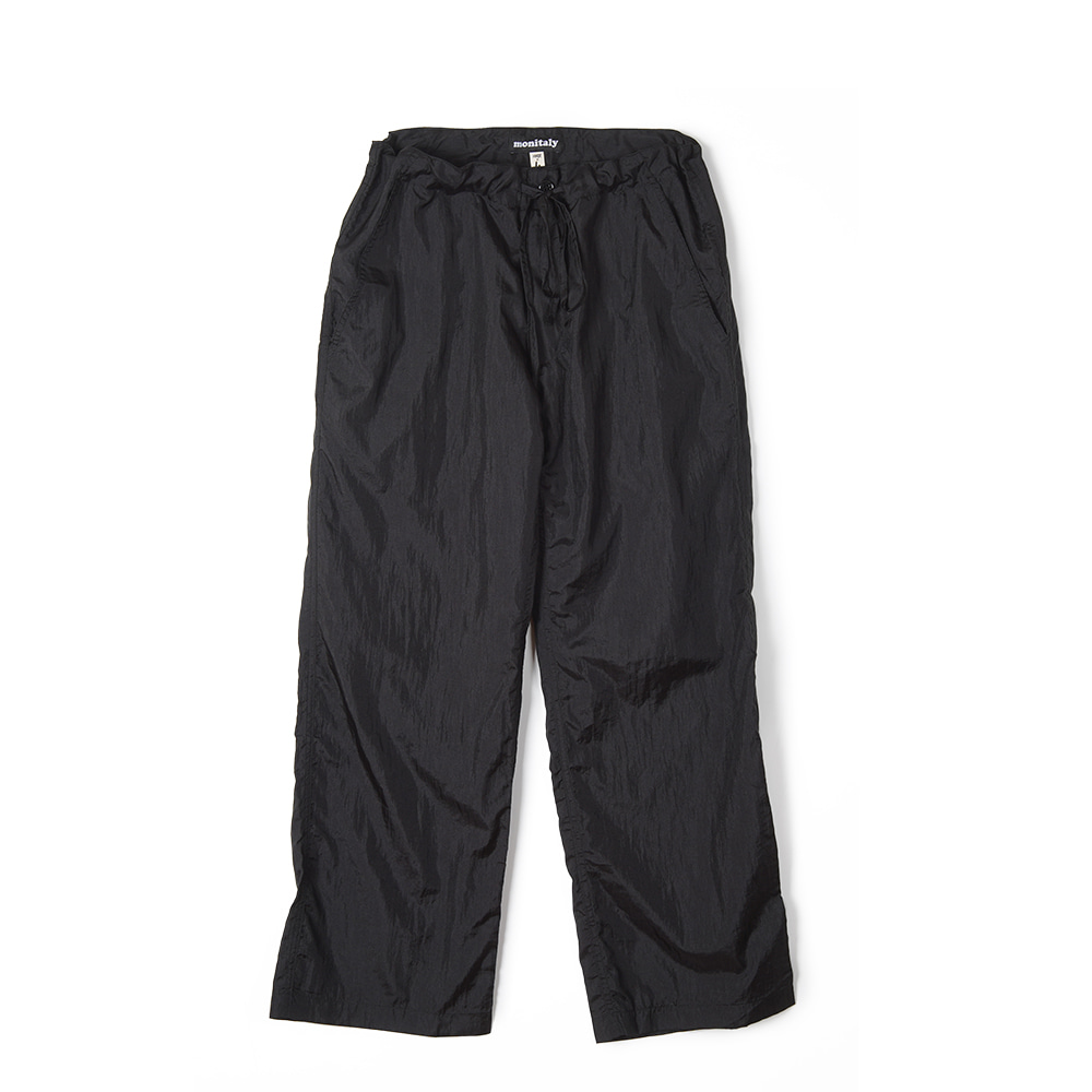 "MONITALY Too Easy Pants ""Taslan Nylon Black"""