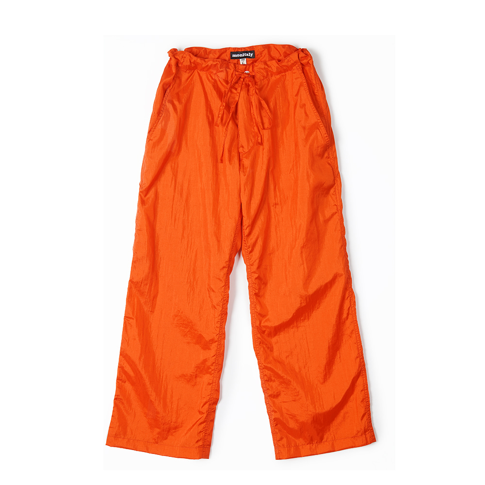"MONITALY Too Easy Pants ""Taslan Nylon Orange"""