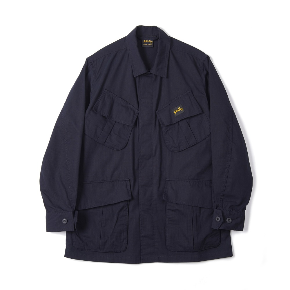 "STAN RAY Tropical Jacket ""Stonewashed Navy Ripstop"""